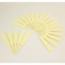 Etiquettes à planter 14 cm (x20) - ivoire