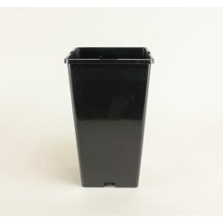 Conteneurs forme haute 3L (x5) - noir