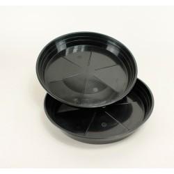 Soucoupes Ø24 cm (x2) - noir