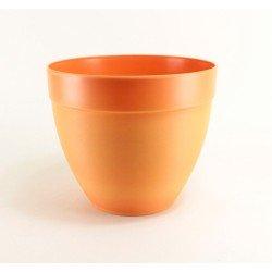 Pot décor Tania Ø28 cm - orange