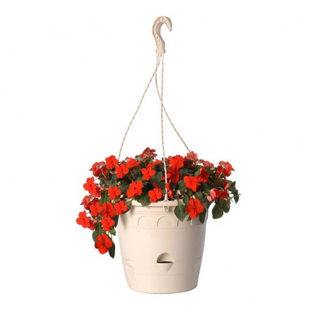 Suspension florale ou plante avec r serve d 39 eau - Suspension florale exterieure ...