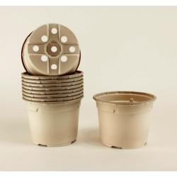 Pots ronds Ø13 cm (x10) - BIO