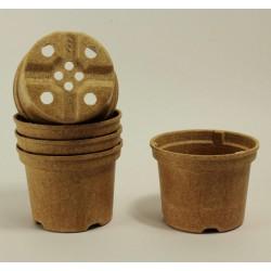 Pots NAPAC Ø10.5 cm (x5) - BIO