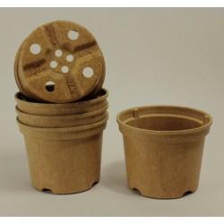 Pots NAPAC Ø12 cm (x5) - BIOCOMPOSTABLE