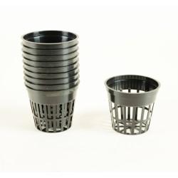 Pot panier Ø 5,5 cm (x10) - Noir