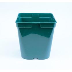 Conteneur Rond / Carré 4 L (x5) - vert sapin