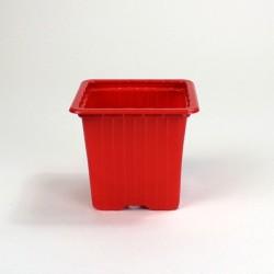 Godets 7x7x6.4 (x30) - rouge