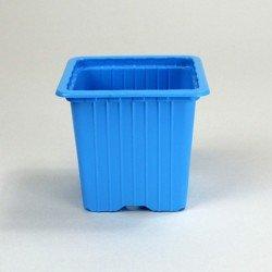 Godets 8x8x7 (x30) - bleu clair