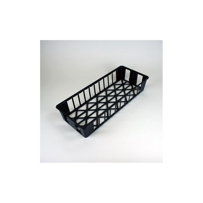 Clayettes GM10 pour godets 8x8x7 (x3) - noir