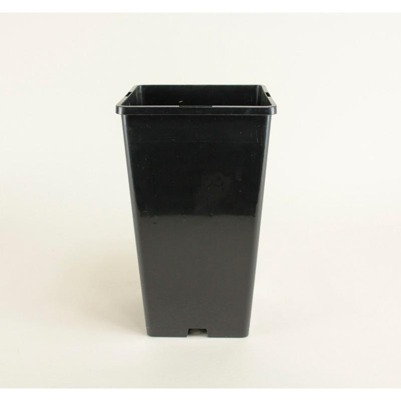 Conteneurs forme haute 4L (x5) - noir