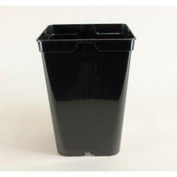 Conteneurs forme haute 6L (x5) - noir