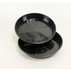 Soucoupes Ø22 cm (x5) - noir