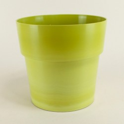 Cache pot Flora Ø20 cm - vert bambou