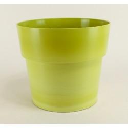 Cache pot Flora Ø23 cm - vert bambou