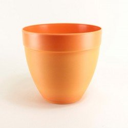 Pot décor Tania Ø25 cm - orange