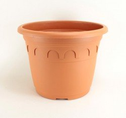 Pot Roma 15L - coloris argile