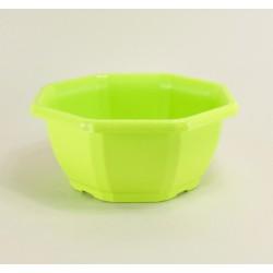 Coupes décoratives 27.5 cm (x3) - vert pomme