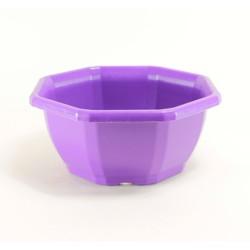 Coupes décoratives 27.5 cm (x3) - violet