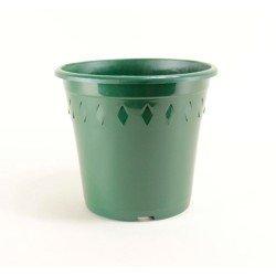 Pots décor Europa Ø19 cm (x5) - vert sapin