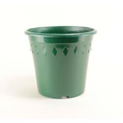 Pots décor Europa Ø21 cm (x5) - vert sapin
