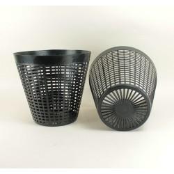 Pot panier Ø 30 cm (x2) - Noir