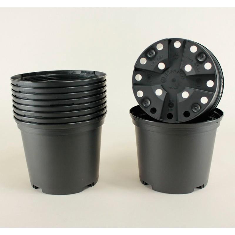 Conteneurs 1L SMV (x10) - noir
