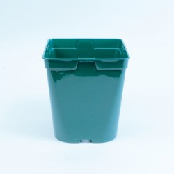 Conteneur Rond / Carré 3 L (x5) - vert sapin