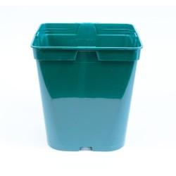 Conteneur Rond / Carré 5 L (x5) - vert sapin