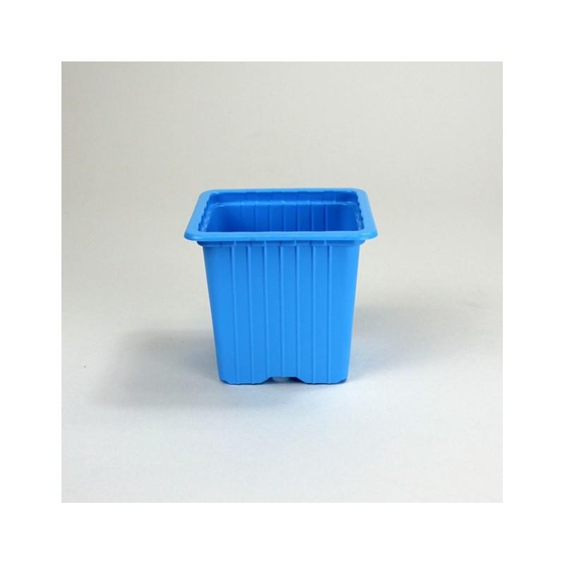 Godets 7x7x6.4 (x30) - bleu clair
