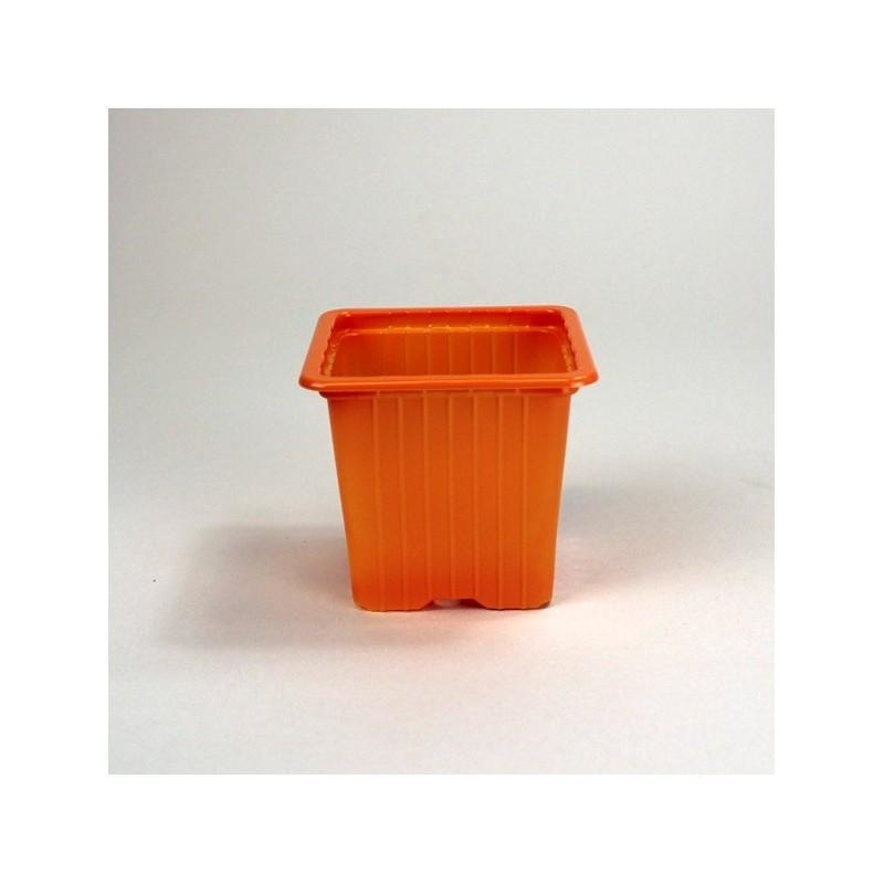 Godets 7x7x6.4 (x30) - orange