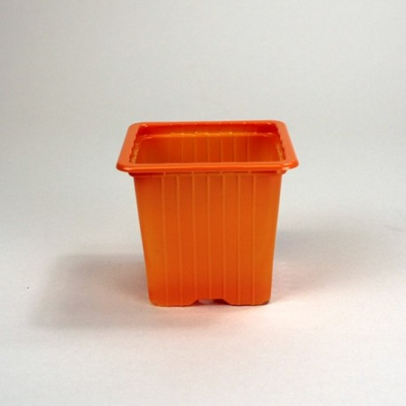 Godets 7x7x6.4 (x30) - orange