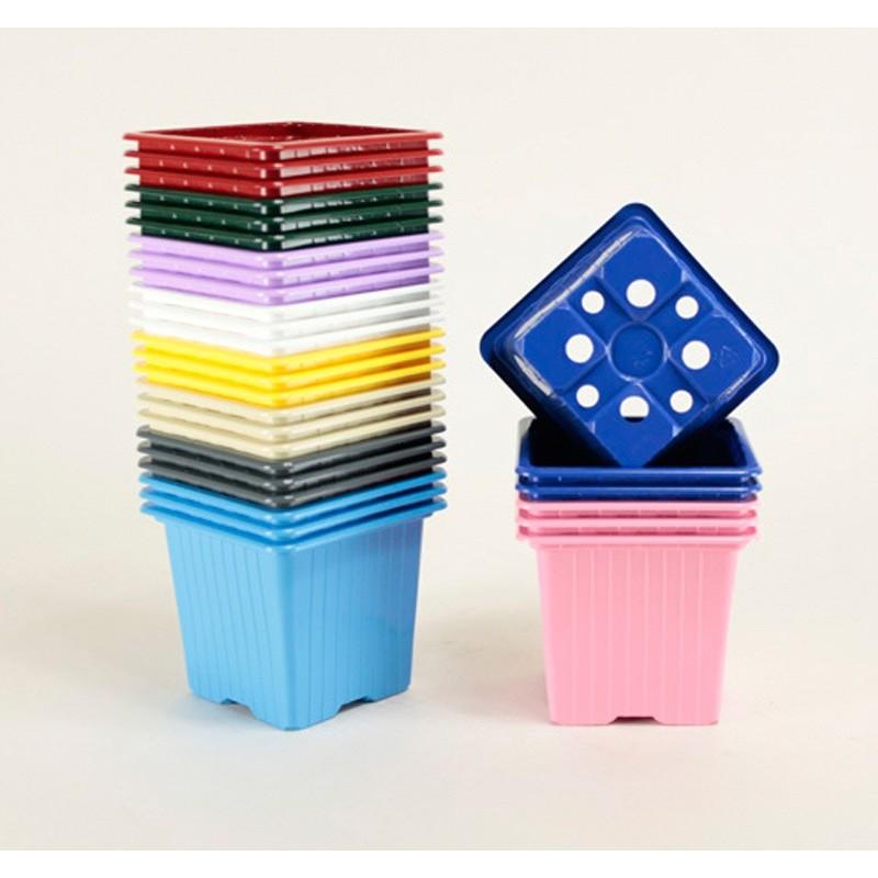 Godets couleurs 7x7x6.4 (x30)