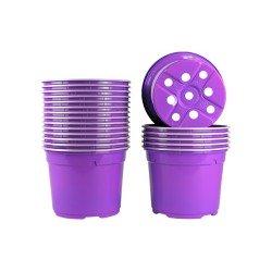 Pots ronds Ø12 cm (x20) - violet