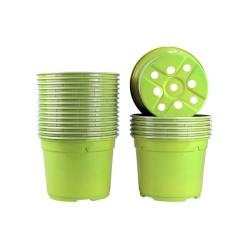 Pots ronds Ø12 cm (x20) - vert bambou