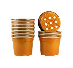 Pots ronds Ø12 cm (x20) - orange