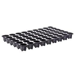 Plaques de semis 54 trous (x2) - noir