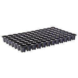 Plaques de semis 84 trous (x2) - noir