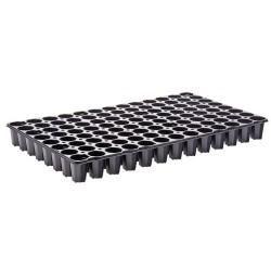 Plaques de semis 104 trous (x2) - noir