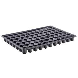Plaque de semis récupérable 77 Trous - noir