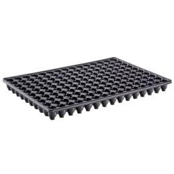 Plaque de semis récupérable 150 Trous - noir