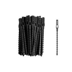 Plastiliens 11.5 cm (x100) - noir
