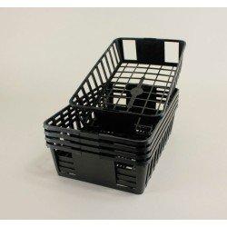 Clayettes GM6 pour godets 8x8x7 (x5) - noir